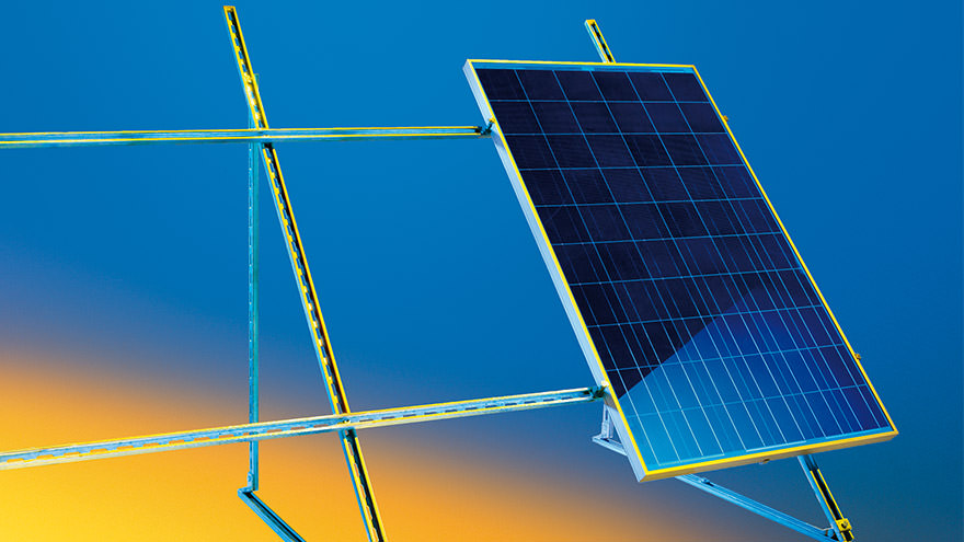 Solar Panel Support System Sikla